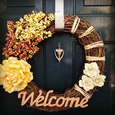 Diy Fall wreath - need to get an idea together!