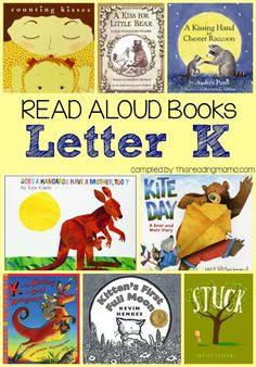 Are you teaching your child about the letter K? Here is a Letter K book list… Letter K Preschool, Letter K Crafts, Preschool Literacy, Preschool Books, Alphabet Activities, Book Activities, Abc Crafts, Kindergarten Reading, Preschool Printables