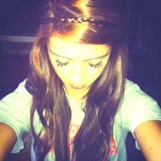 Hair braid headband, cute and easy!