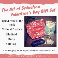 The Art of Seduction Sale for Your Valentine's Day Needs http://www.wilsonwrites.com/art-seduction-sale-valentines-day-needs/?utm_campaign=coschedule&utm_source=pinterest&utm_medium=Wilson%20Writes&utm_content=The%20Art%20of%20Seduction%20Sale%20for%20Your%20Valentine%27s%20Day%20Needs Get your #ValentinesDay #gift before it's too late!