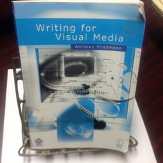 WRITING FOR VISUAL MEDIA BOOK, CD-ROM, FROM BASIC TO COMPLEX, INTERACTIVE ILLUST #TextbookCDROM