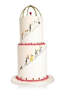 Whimsical cake