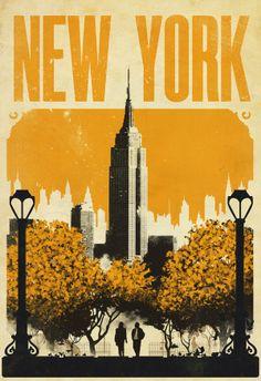 Shows 2046 design, justin van genderen travel vintage prints new york poste New York Poster, Vintage Prints, Vintage Art, Vintage Quotes, Harry And Sally, New York Illustration, Retro Poster, Kunst Poster, Photocollage