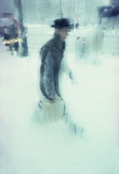 Photo: Saul Leiter. Chosen for the cover of New York magazine December 2013, decades after it was taken.