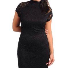 Black Beautiful Lace Dress$Hold$
