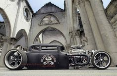 Custom Rat Rod built by John Shope at Dirty Bird Concepts.