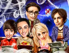 The Big Bang Theory by bouboudesign