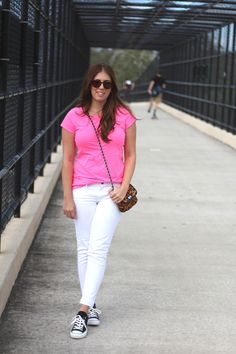 A pair of Gap jeans as featured on the blog Real Girl Glam.