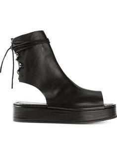BARNY NAKHLE Open Toe Boot