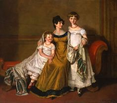 Mother with two children by A.E. Chalon, 1812/photobucket