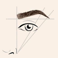 Épilation des sourcils: déterminer sa ligne de sourcils et l'entretenir - L'Express Styles