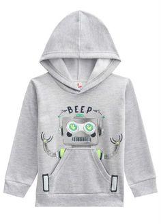 Hoodies, Sweatshirts, Boy Fashion, Kids Outfits, Baby Boy, Boys Style, Robots, Pattern, Sweaters