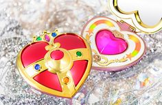 Official Cosmic Heart Compact replica from the Sailor Moon anime! http://www.moonkitty.net/buy-bandai-tamashii-nations-proplica.php