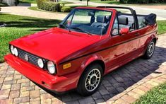 Vw Cabrio, Cabriolet, Volkswagen, Classic Cars Online, Preserves, Good Things, Golf 1, Peace, Vintage
