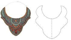 Handbox | Craft Lovers » Comunidad DIY: tutoriales y kits para todosTop 6 patrones collar babero descargables » Handbox | Craft Lovers