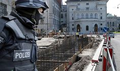 """An original translation from the newspaper Kronen Zeitung, Austria. September 2017 Fear of Terror Office of Chancellor locking up behind concrete walls """"Yes, a wall is being constructed in… Brave New World, New World Order, Under Construction, Vienna, Austria, Street View, America, Building, Wall"""
