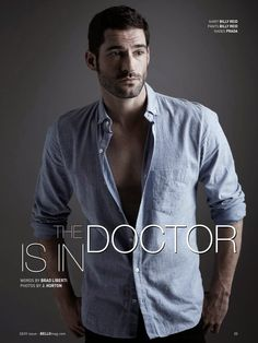 Tom Ellis para BELLO Magazine Agosto 2014