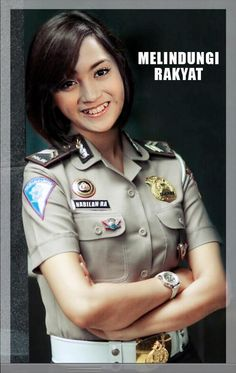 @CaktiRawks Police Uniforms, Girls Uniforms, Military Operations, Indonesian Girls, Real Women, Asian Girl, Queens, Female Cop, Military Girl
