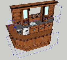 Ohio Basements remodeling company - bars & basement bar plans | Basement Bar - Custom Cabinets of Atlanta | man ...