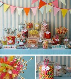 10 best colorful candy buffet ideas images candy buffet dessert rh pinterest com