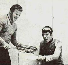 Kirk & Spock #tv #series #startrek