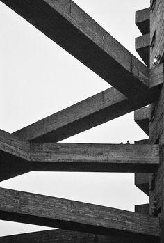 "n-architektur: "" SESC Pompéia Lina Bo Bardi Photographed by Federico Cairoli "" Concrete Architecture, Industrial Architecture, Architecture Plan, Residential Architecture, Contemporary Architecture, Interior Architecture, Amazing Architecture, Die Renaissance, Brutalist"
