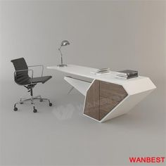 2017 New Design Modern Manager Executive Desk Office Table Design Office Table Design, Office Furniture Design, Office Interior Design, Office Interiors, Design Desk, Office Designs, Executive Office Furniture, Modern Office Desk, Desk Office