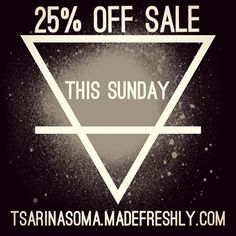 There's a flash sale coming!  Every Sunday all this September there is going to be 25% off selected products!  #sale #flashsale #fashion #jewellery #womensfashion #crystal #crystals #crystalhealing #reiki #quartz #amazing #amethyst #life #love #leather #mensfashion #rawcrystal #tumblestones #instagood #instadaily #igers #obsidian #picoftheday #beautiful #bestoftheday #style #stones #gems #goth #girl
