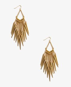 Spike Chandelier Earrings