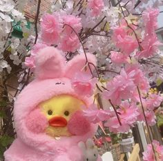 Softies, Plushies, Duck Toy, Baby Icon, Pink Aesthetic, Devil Aesthetic, Cute Stuffed Animals, Kawaii, Reaction Pictures