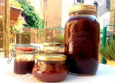 Mammarampa B&B, Rome. Homemade plum jam. The selection of products for breakfast is based on their quality - organic options are always our first choice http://www.organicholidays.co.uk/at/3227.htm