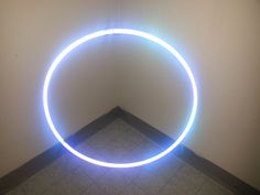 """36"""" 3/4 HDPE Highly Reflective California Dream Performance Taped Practice Hula Hoop. 36"""" Outside Diameter. Made with 3/4"""" HDPE Material. Completely Taped in Silver High Intensity Relective Tape and Dream Weaver. Snap Button connector so you can double coil for travel. This is not an LED Hoop - This is reflective tape - Photos were taken with a smart phone with the flash on."""