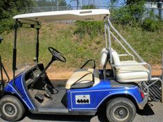 When you upgrade your cart to a 4 seater golf cart, upgrade your golf cart roof to an extended top to protect and shade your rear seat passengers. Golf Cart Bodies, Golf Carts For Sale, Golf Cart Batteries, Rear Seat, Golf Tips, Improve Yourself, Golf Courses, Rear View, Mirrors