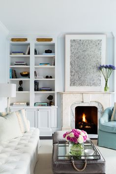 Park Slope Brownstone || Marble Fireplace || Chango & Co.
