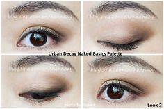 Urban Decay Naked Basics Palette - eye makeup (2)