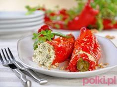 Papryka faszerowana szpinakiem #polkipl