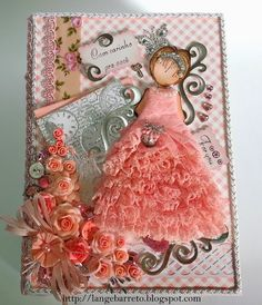 Lange Barreto - Scrap: Caixa decorada