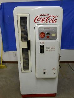 1950's Cavalier Coca Cola Machine