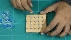 This project will show you how to make a DIY Flashing LED Cube, with a wide range of pattern to play with. Let's begin making the 4 x 4 x 4 LED Cube. Led Cube Arduino, Led Projects, Electronics Projects, Starter Kit, Diy, Cubes, Electrical Projects, Circuit, Blue Prints