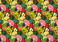 Fruit Print by House of Gianni | Threadless