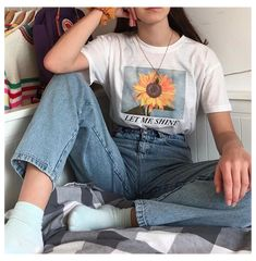 Adrette Outfits, Indie Outfits, Teen Fashion Outfits, Retro Outfits, Cute Casual Outfits, Vintage Outfits, Summer Outfits, Punk Fashion, Art Hoe Fashion