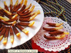 Canditi+al+tarassaco+e+cacao.+Pura+golosità.