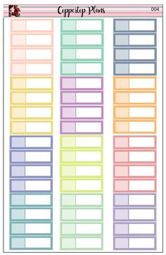 doctor appointment Sticker Sheets Planner Agenda Stickers to do  pastel colors