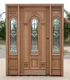 Wooden front doors for sale all kind of modern wooden front door front entrance doors for Door Gate Design, Wood Doors, Exterior Front Doors, Wood Exterior Door, Entry Doors, Mahogany Doors, Prehung Doors, External Wooden Doors, Front Door Design