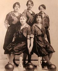 WOMENS BOWLING: It was in 1917 that the Women's International Bowling Congress was born in St. Louis. Encouraged by proprietor Dennis Sweeney, women leaders from around the country participating in a tournament decided to form what was then called the Women's National Bowling Association.
