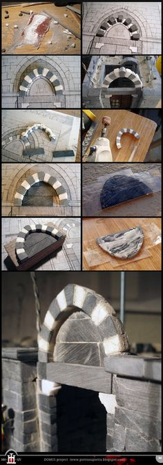Domus project 106: Lunette of the main door by Wernerio on DeviantArt