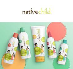 Nativechild kid's range on Behance Native Child, Property Design, Wayfinding Signage, Jobs Apps, Print Ads, Web Design, Behance, Packaging, Branding