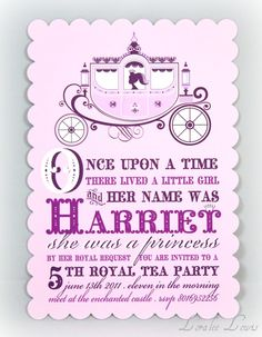 Princess Party (If not for this birthday, probably her next. I see a lot of princesses in our future still.)
