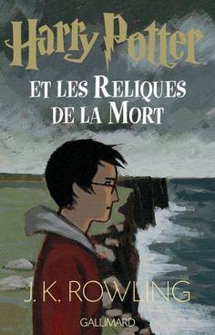 french book cover for harry potter and the deathly hallows Harry Potter Book Covers, Cover Harry Potter, Harry Potter Artwork, Harry Potter Characters, Harry Potter Universal, Used Books, Books To Read, My Books, Ron Et Hermione