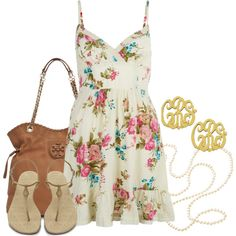 """Sweet & Southern"" by qtpiekelso on Polyvore"